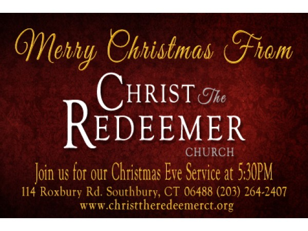 Join us for our Christmas Eve Service at 5:30 PM ...