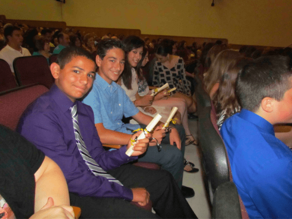 Eighth-graders Celebrate Moving Up | Merrick, NY Patch