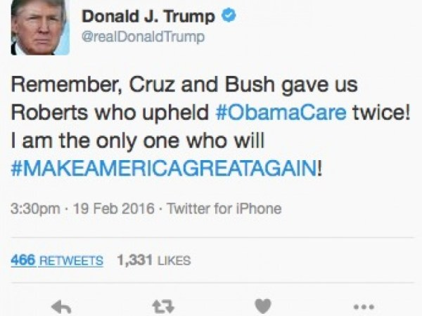 Donald Trump Calls For Apple Boycott -- Then Tweets From ...