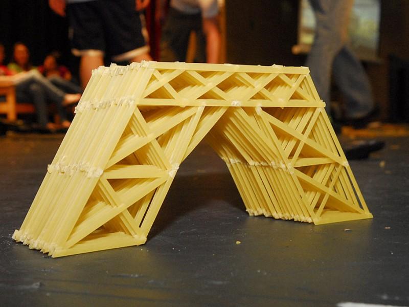 PHOTOS Pasta Bridge Competition Fair Lawn NJ Patch