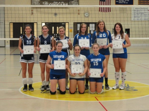 All-Shoreline Girls' Volleyball Teams   East Hampton, CT Patch