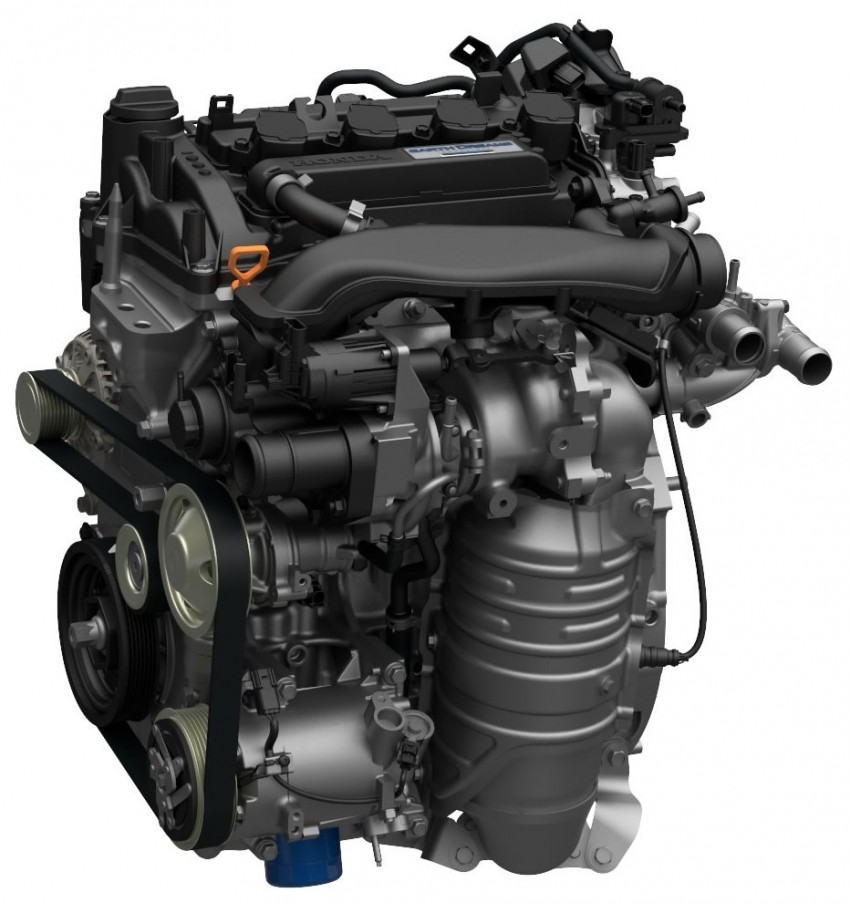 2016 Honda Civic – full technical details on the 10th gen sedan, which benchmarks the 3 Series, C-Class Image #393982