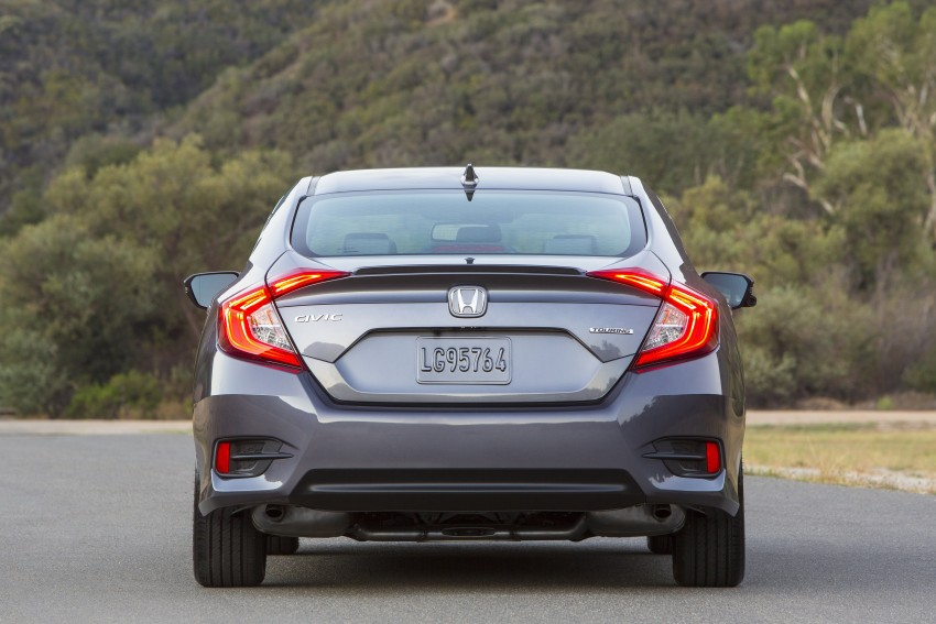 2016 Honda Civic – full technical details on the 10th gen sedan, which benchmarks the 3 Series, C-Class Image #393999