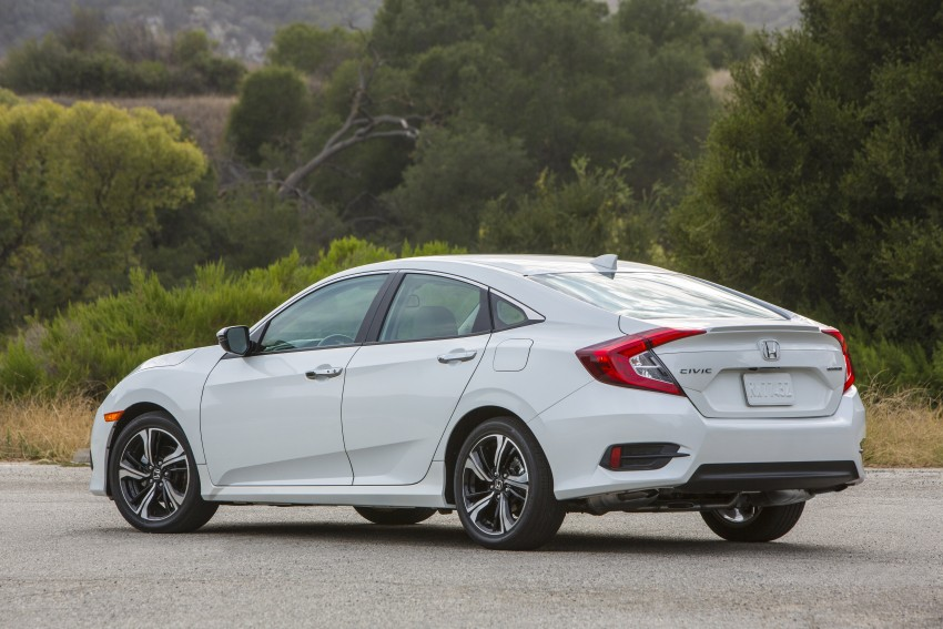 2016 Honda Civic – full technical details on the 10th gen sedan, which benchmarks the 3 Series, C-Class Image #394145