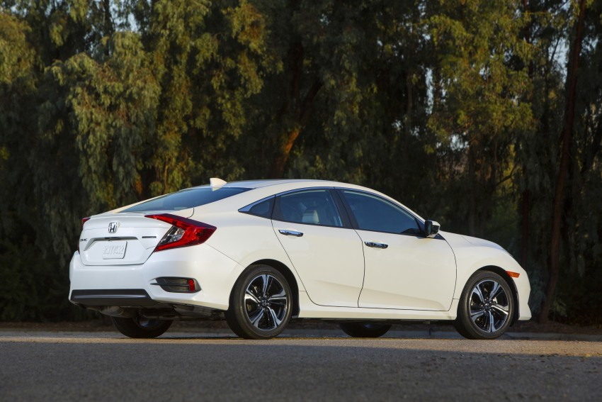 2016 Honda Civic – full technical details on the 10th gen sedan, which benchmarks the 3 Series, C-Class Image #394151