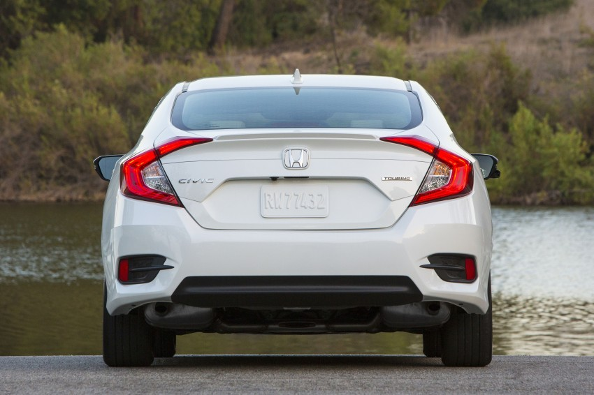 2016 Honda Civic – full technical details on the 10th gen sedan, which benchmarks the 3 Series, C-Class Image #394155