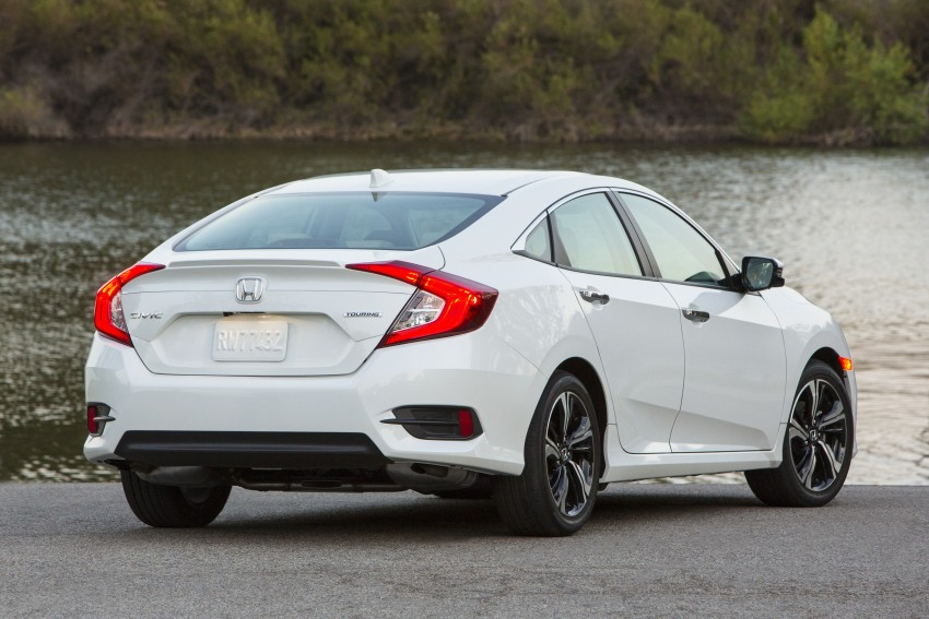2016 Honda Civic – full technical details on the 10th gen sedan, which benchmarks the 3 Series, C-Class Image #394160