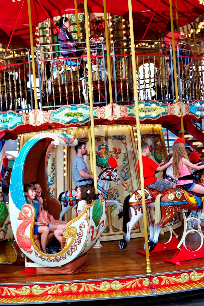 The Victorian Carousel Paultons Family Theme Park