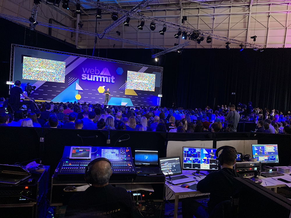 A session during WebSummit