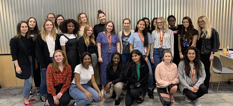 Teaching the Code First: Girls Summer Intensive Course at Sky Betting and Gaming