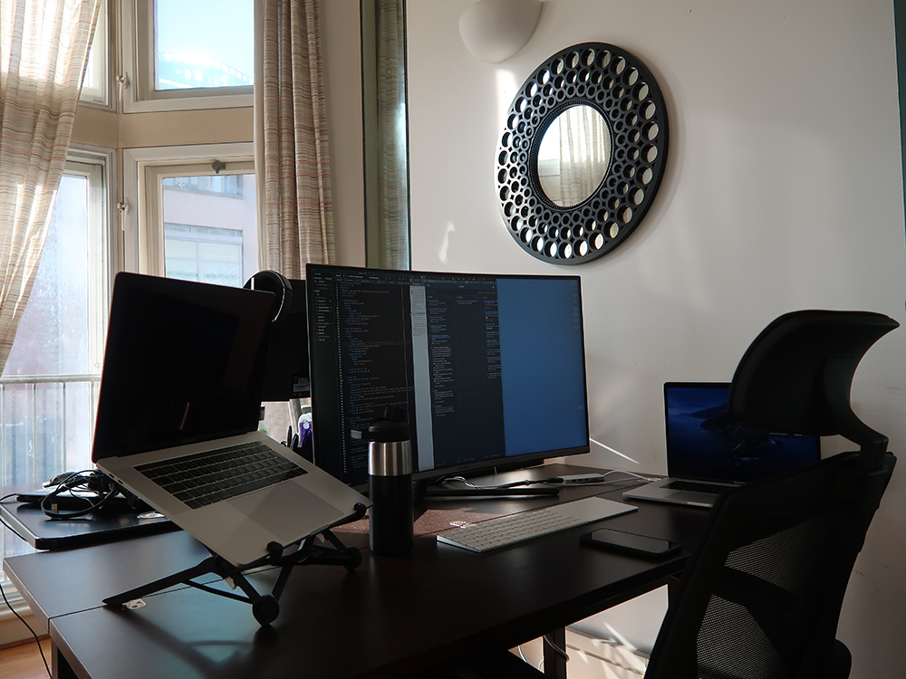 Matt's desk set-up