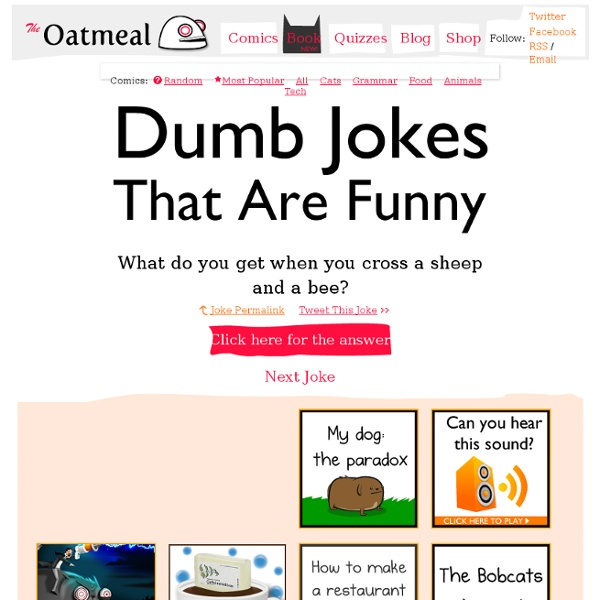 Clean Jokes Are Actually Funny