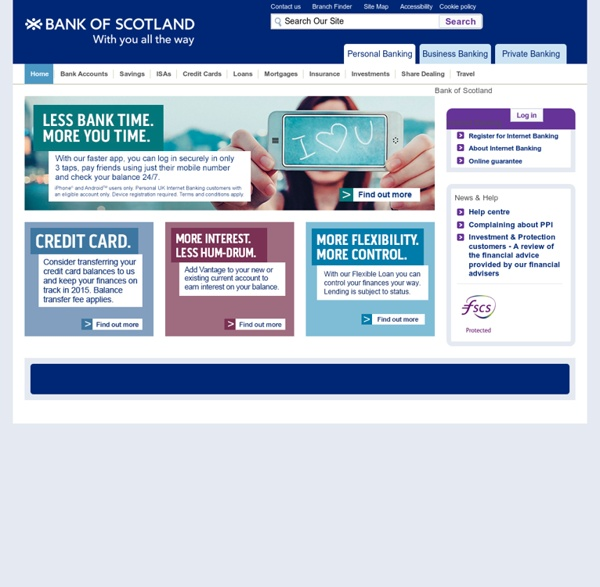 Royal Bank Scotland Online Personal Banking