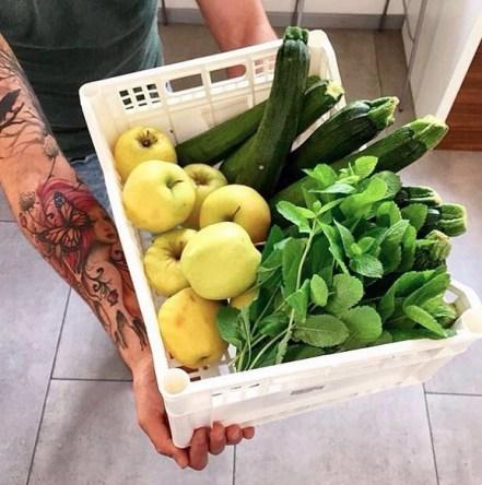 Mariacarota cassetta di frutta fresca
