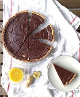 Mariacarota crostata al cioccolato