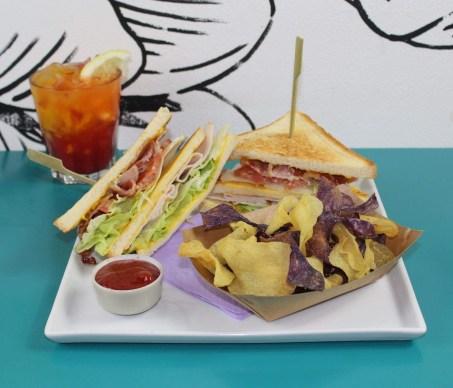 Club Sandwich La Portineria Roma
