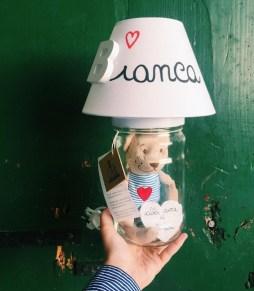 LA IT LUCE Lampada personalizzata per bambini