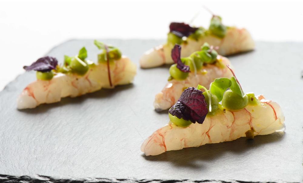 gamberi crudi da iyo - ristoranti giapponesi - pepite per tutti