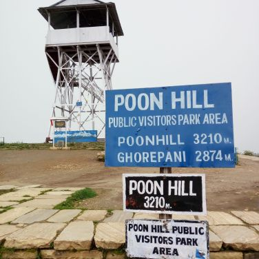 Poon Hill - 3200m