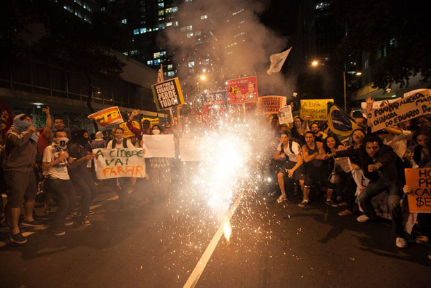 A First Person View de fotografiar las protestas en Brasil brazilprotests 16