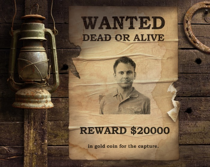 wanted poster photofunia free photo
