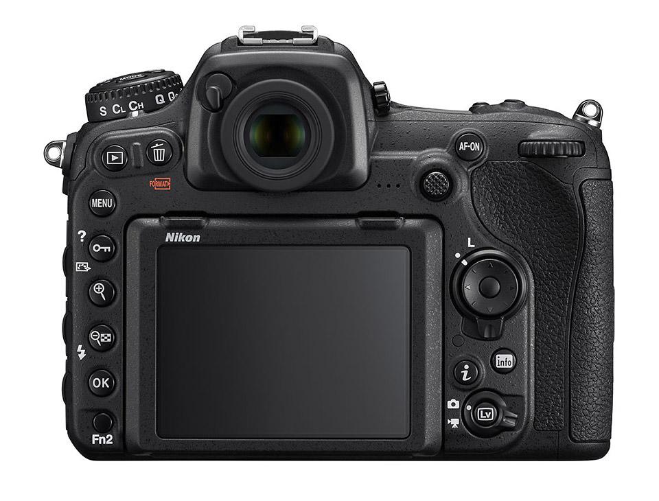 Nikon D500 Rear