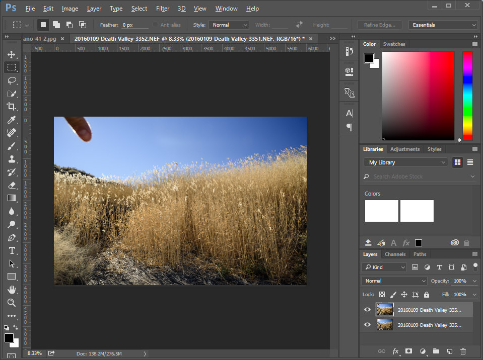 Photoshop Two Layers