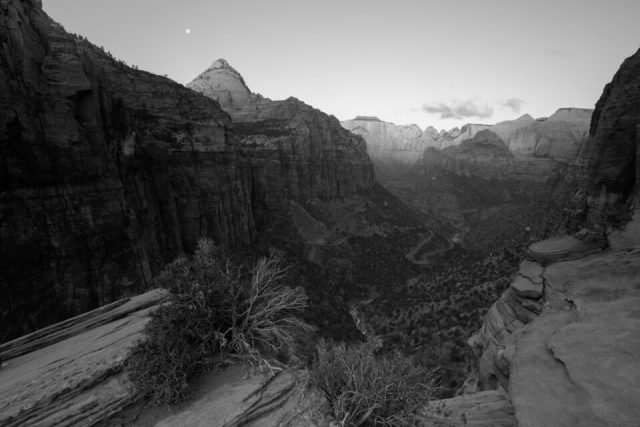 Hyperfocal distance landscape