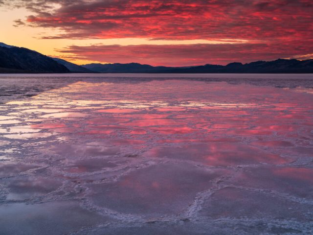 Sunrise Badwater Reflection