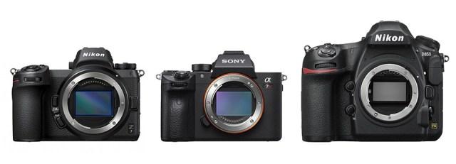 Nikon Z7 vs Sony A7R III vs Nikon D850