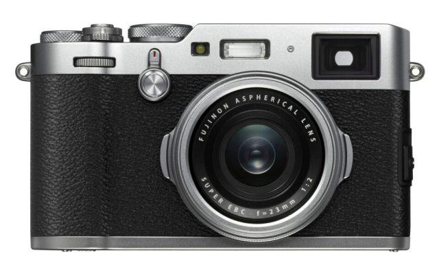 Front of Fuji X100F Camera