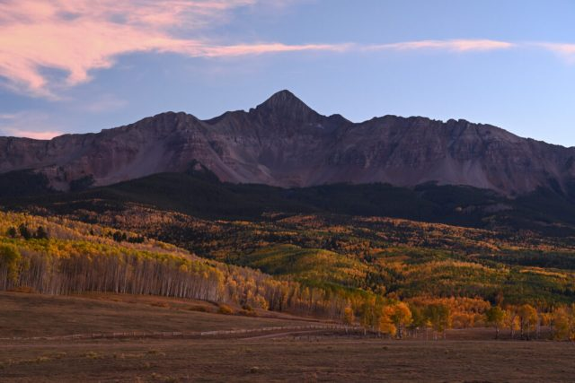 Nikon Z7 Sample Landscape Photo at Sunset