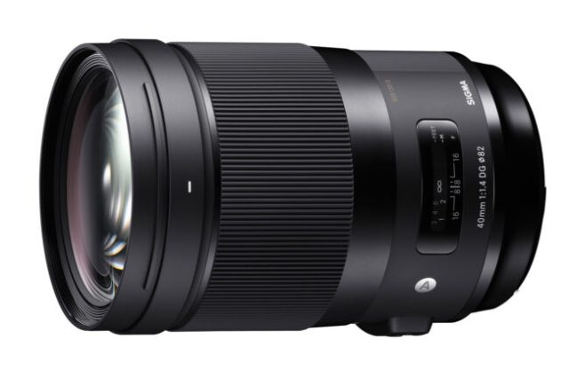 The Sigma 40mm f1.4 Art is the opposite of a pancake prime. It weighs a whopping 1200 grams.