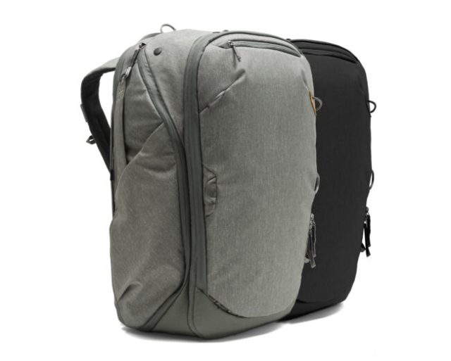 Two Colors of 45L Travel Backpack