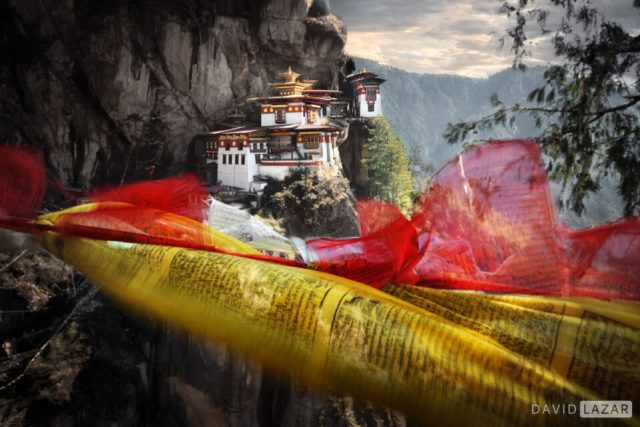16. David-Lazar-Bhutan-Tigers Nest-Prayer Flags