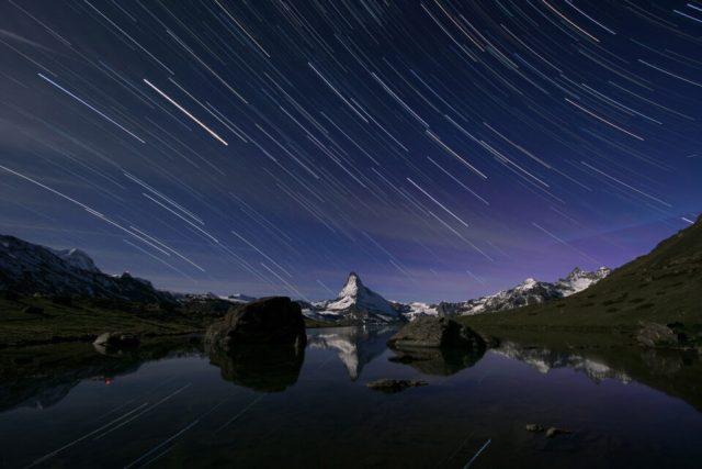 Svycarsko-Startrails