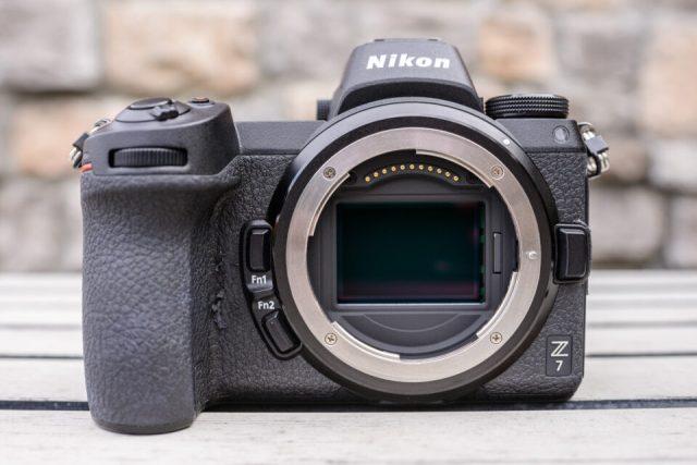 Nikon Z7 with Worn Out Grip
