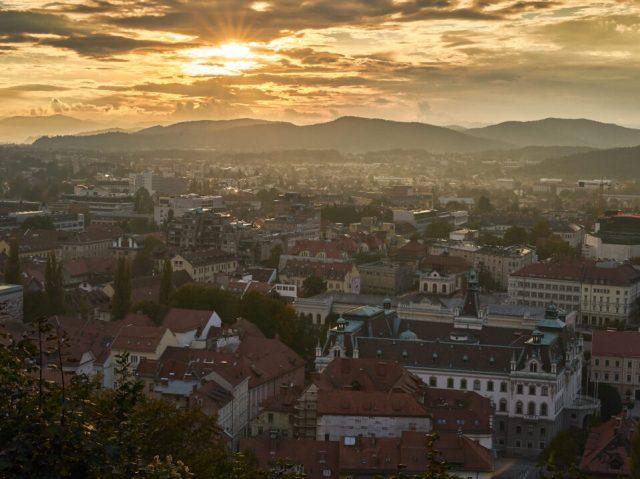 19. Ljubljana Sunset