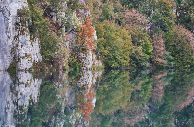 29. Fall Reflections in Plitvice Lakes