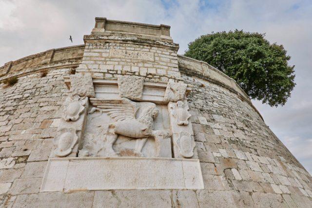 9. Walls of Zadar