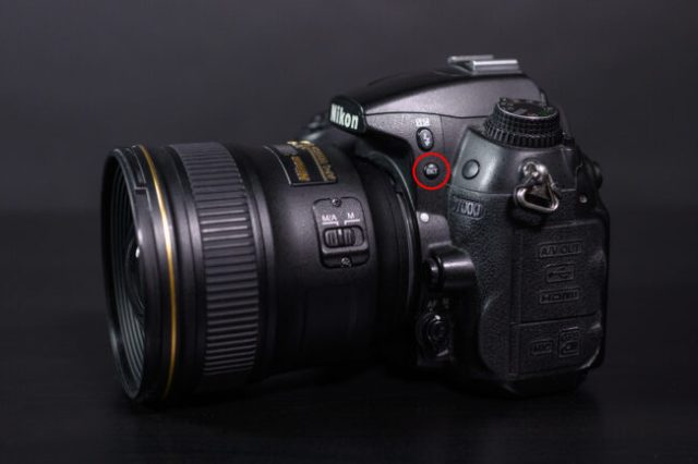 Bracketing Button on Nikon D7000