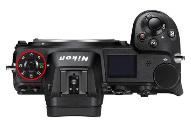 Nikon Z7 PASM Dial