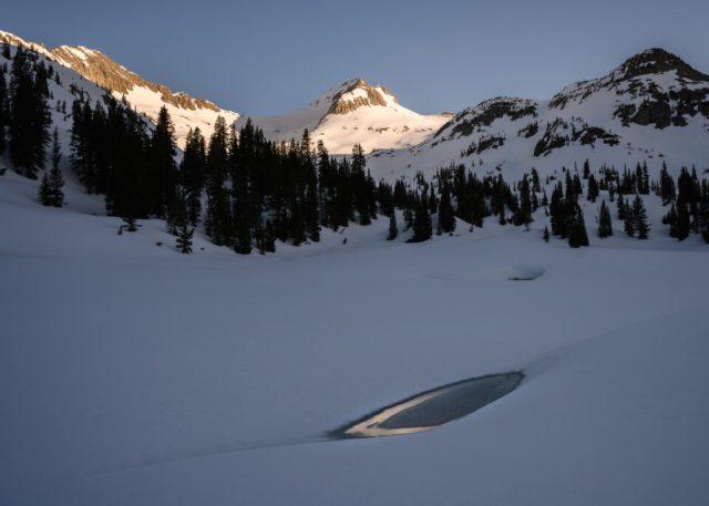 Sunrise Gunnison Copper Lake