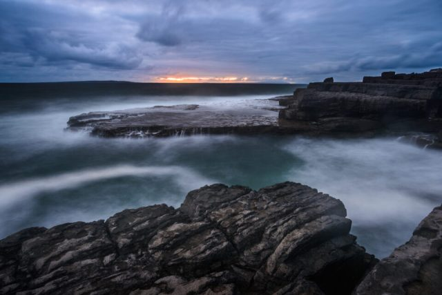 For this seascape photo, I had to balance depth of field with diffraction, and I ended up using an aperture of f/11.