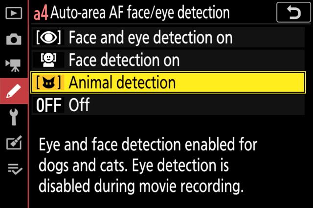 Nikon Z Animal Detection