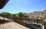 Balcony off the Game Room with views of Desert Preserve