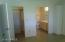 Private Master Bath and Walk-In Closet off the Bedroom