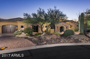Located in La Sendas Mountain's private gated enclave of Pinnacle Ridge.
