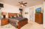 Ceiling fan with light, wood blinds, upgraded carpet; plus you'll wake up to mountain views