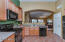 Extended height kitchen cabs; open to Great Room